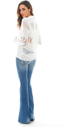 Alexis Aleksandra Button Down Blouse in White