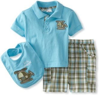 Babytogs Baby Togs Baby-Boys Infant Polo And Short Bib Set