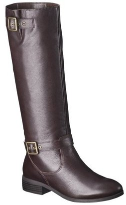 Mossimo Women's Rylee Genuine Leather Tall Boot
