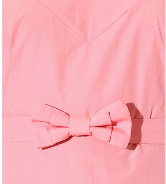 Miu Miu BELTED COTTON DRESS