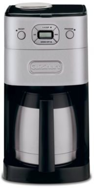 "Cuisinart Grind & Brew ThermalTM"" 10-Cup Automatic Coffee Maker by"