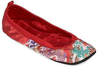 Vivienne Tam Double Happiness by Print Slippers
