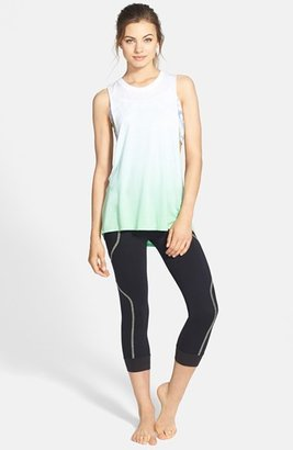 So Low Solow Contrast Stitch Crop Leggings