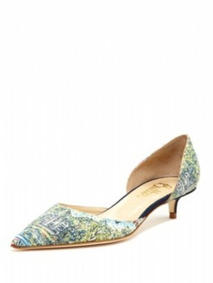 Butter Shoes Slicker in Meadow Liberty Print