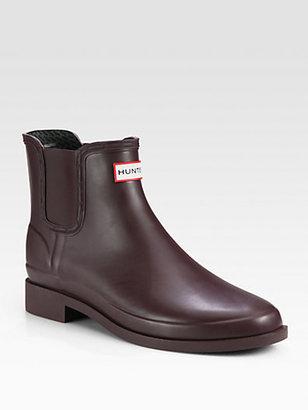 Hunter Chet Rubber Chelsea Boot