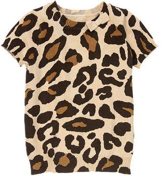Gymboree Bow Leopard Sweater