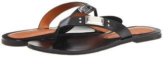 Marc by Marc Jacobs Standard Supply Flip Flops (Black/Nikel) - Footwear