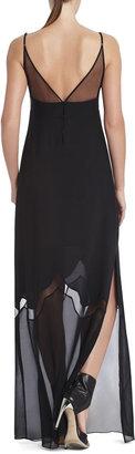 BCBGMAXAZRIA Runway Serena Silk Dress