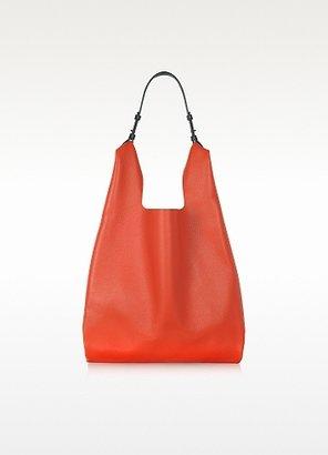 Jil Sander Color Block Leather New Market Bag