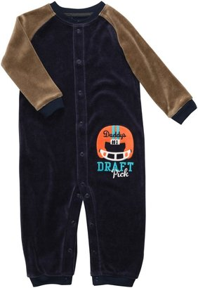 Carter's Infant Long Sleeve One Piece Velour Coverall