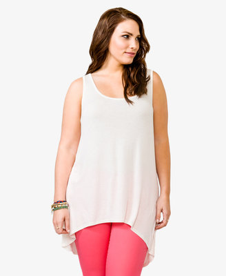 Forever 21 FOREVER 21+ High-Low Sleeveless Top
