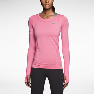 Nike Dri-FIT Knit Long-Sleeve Women's Running Shirt