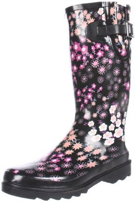 Western Chief Women's Floating Floral Rain Boot