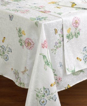"Lenox Butterfly Meadow Oblong 60"" x 102"" Tablecloth"