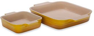 Le Creuset 2-Piece Square Baking Dish Set - Dijon