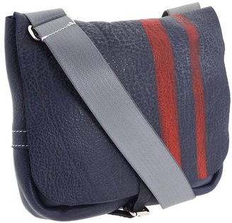 Mulholland Brothers - Tiny Mighty Messenger (Navy/Red Stripes) - Bags and Luggage