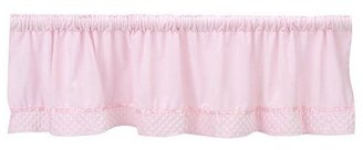 Baby Doll Bedding Heavenly Soft Window Valance - Pink