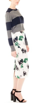 A.L.C. Bell Floral Pencil Skirt