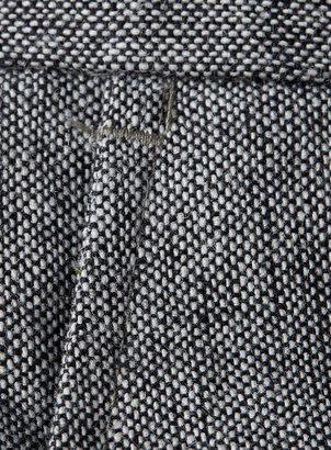Topman Charcoal Donegal dress pants
