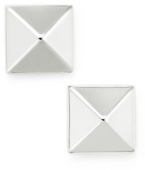Macy's Pyramid Stud Earrings in 14k Gold, White or Rose Gold