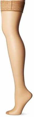 Dim Women's UP VOILE BAS Hold-up Stockings, 15 DEN,1 (size: 1)