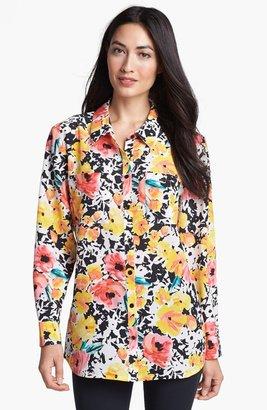 Nordstrom 'Novita' Silk Tunic Shirt