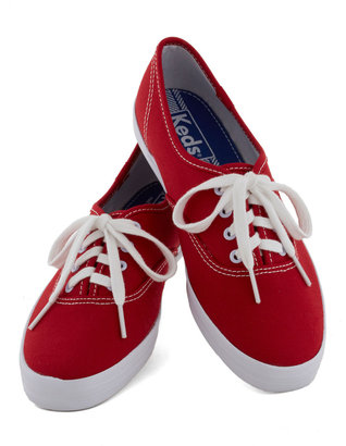 Keds It's Been Too Longboard Sneaker in Red