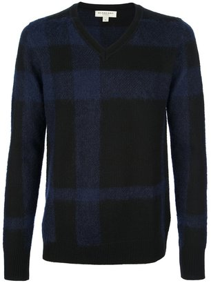 Burberry 'Clarence' check jumper