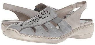 Rieker 41390 Doris 90 (Sky/Ice) Women's Shoes