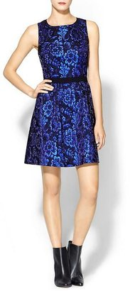 Isabella Collection Rhyme Los Angeles Metallic Dress