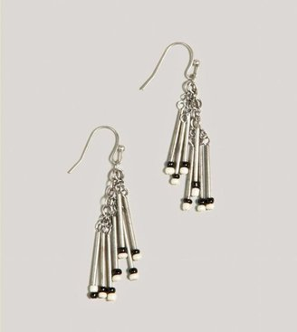 American Eagle AEO Beaded Bar Earrings