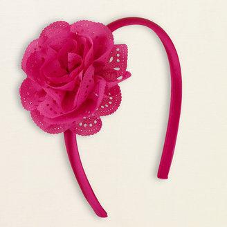 Children's Place Lacy flower headband