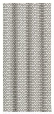 Crate & Barrel Reilly Grey Chevron Curtains