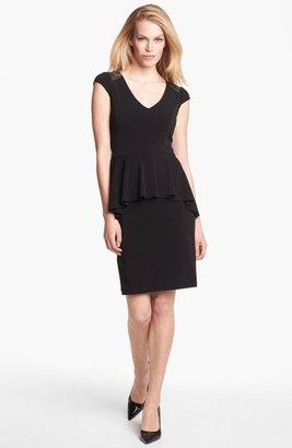 Karen Kane Studded Peplum Dress
