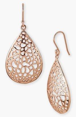Women's Argento Vivo Teardrop Dome Lace Earrings $68 thestylecure.com