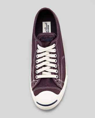 Converse Jack Purcell Low-Profile Sneaker, Purple