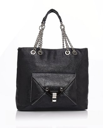 "Cynthia Rowley Gilles"" Leather Tote"