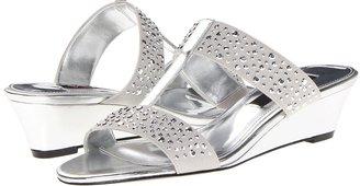 Nina Freedom (Silver/Silver) - Footwear