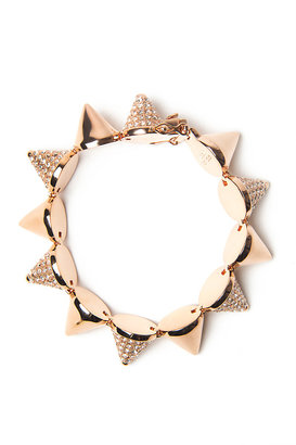 Eddie Borgo Alternating Pave Cone Bracelet