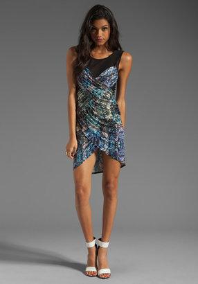 Style Stalker Fractal Bodycon Dress