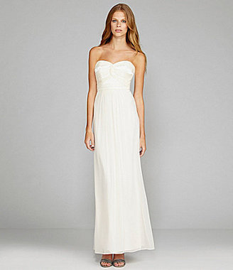 Laundry by Shelli Segal Strapless Beaded Gown
