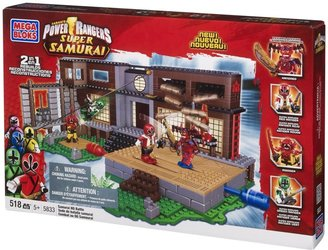 Mega Bloks Power Rangers Samurai HQ Battle