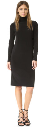 Norma Kamali Kamali Kulture Turtleneck Dress $96 thestylecure.com