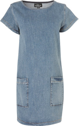 Topshop Maternity Denim Pocket Tunic