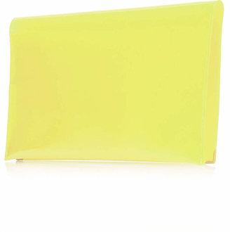 Topshop Semi-sheer Clutch Bag