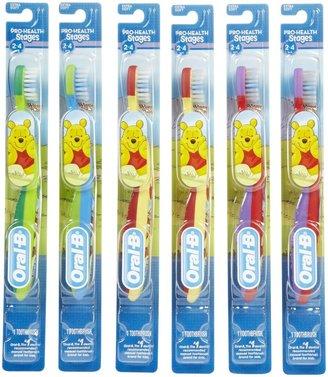 Oral-B Oral B Stage 2 Toothbrush - Winnie the Pooh - 6 Pk