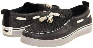 Sorel Sentry Tassel (Black/Oyster Gray) - Footwear