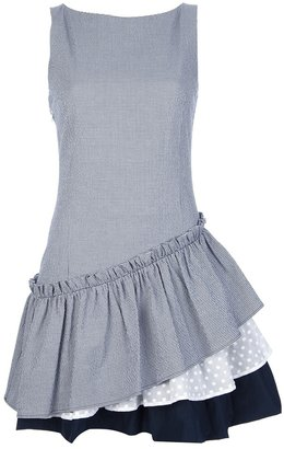 Love Moschino frill hem dress
