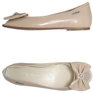 Andrea Morelli Peep-toe ballet flats