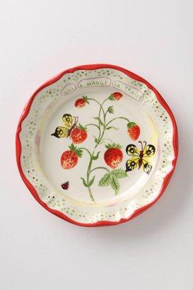 Anthropologie De Vincennes Dinner Plate, Berries